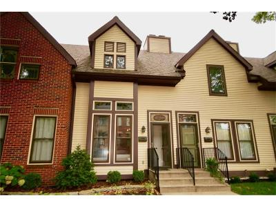 Indianapolis Condo/Townhouse For Sale: 507 East Vermont Street
