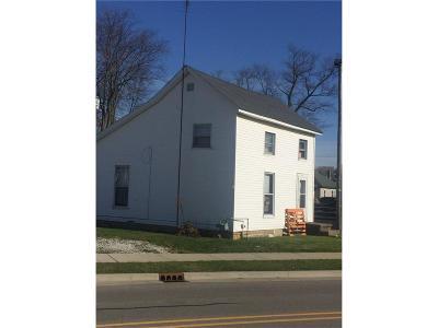 Rushville Single Family Home For Sale: 210 North Buena Vista