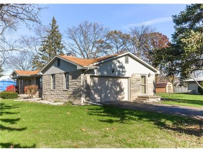 Brownsburg Single Family Home For Sale: 1085 Hornaday Road