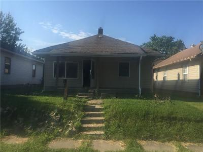 Indianapolis Single Family Home For Sale: 1315 East Minnesota Street