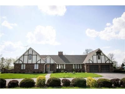 Greensburg Single Family Home For Sale: 649 South County Road 150 W