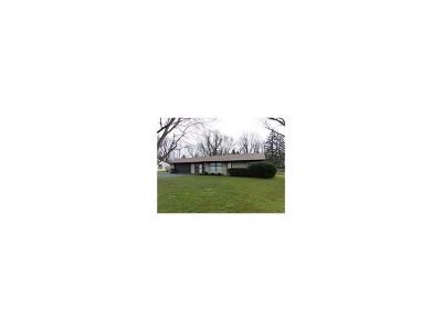 Indianapolis Single Family Home For Sale: 3205 Shortridge Road
