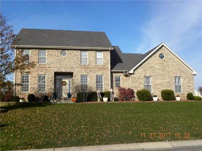 Delaware County Single Family Home For Sale: 7904 West Adare Drive