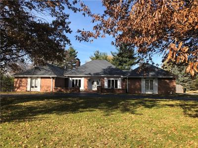 Single Family Home For Sale: 9530 Holliday Drive