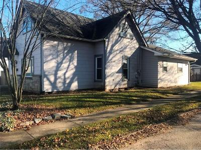 Greenfield IN Single Family Home For Sale: $99,900