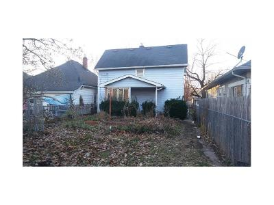 Indianapolis Single Family Home For Sale: 415 North Berwick Avenue