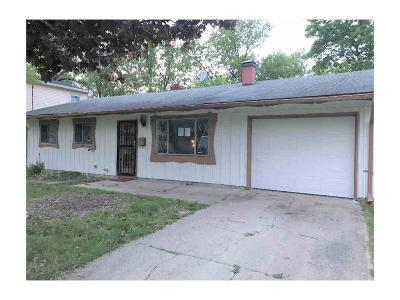 Lawrence Single Family Home For Sale: 9608 East 39th Street