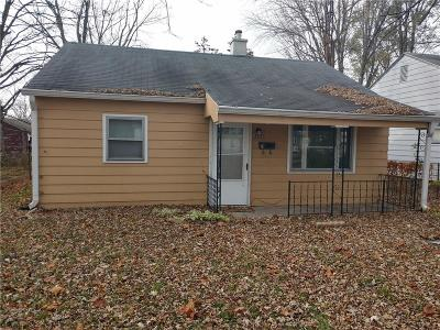 Delaware County Single Family Home For Sale: 2105 South Pershing Drive