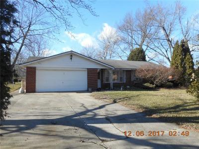 Delaware County Single Family Home For Sale: 9505 North Bluegrass Court
