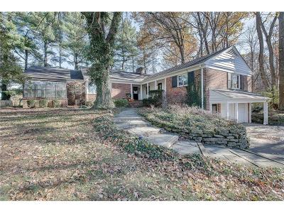 indianapolis Single Family Home For Sale: 9597 Copley Drive