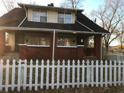 Indianapolis Multi Family Home For Sale: 1810 North Dexter Street
