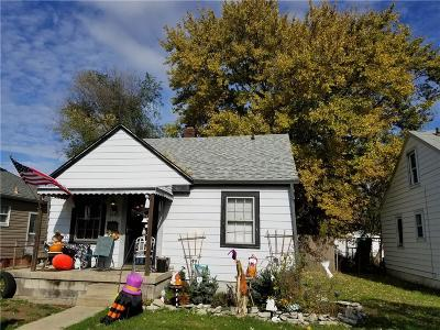 Indianapolis Single Family Home For Sale: 4340 Fletcher Avenue