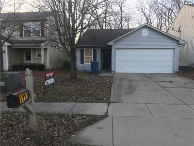 Indianapolis Single Family Home For Sale: 1222 Country Ridge Lane