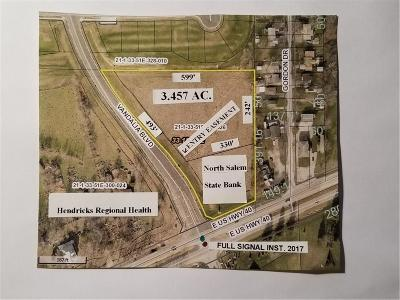 Plainfield Commercial For Sale: 5348 Us 40 Lot A