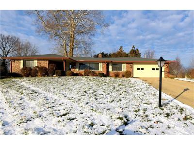 Greenwood Single Family Home For Sale: 4068 Peaceful Place