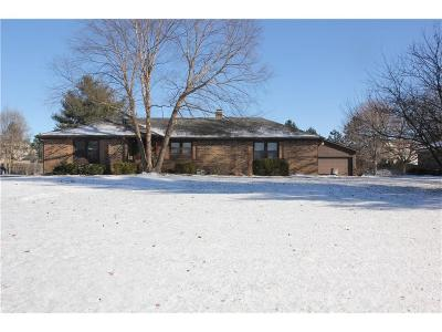 Brownsburg Single Family Home Active W Contingency: 6795 Crown Drive