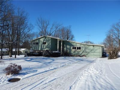 Greencastle IN Single Family Home For Sale: $145,900