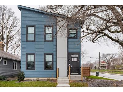 Indianapolis Single Family Home For Sale: 2002 North Park Avenue