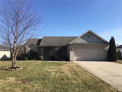 Delaware County Single Family Home For Sale: 1308 North Benton Road