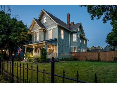 Indianapolis Single Family Home For Sale: 2143 North Delaware Street