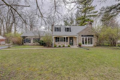 Indianapolis Single Family Home For Sale: 55 East 70th Street
