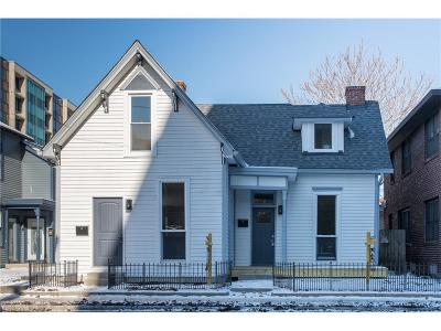 Indianapolis Multi Family Home For Sale: 520-522 East Michigan Street