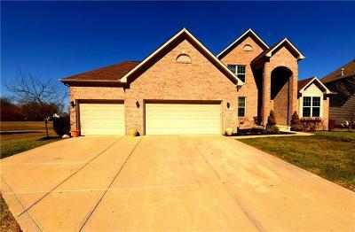 Arcadia, Cicero, Noblesville Single Family Home For Sale: 5888 Daw Street