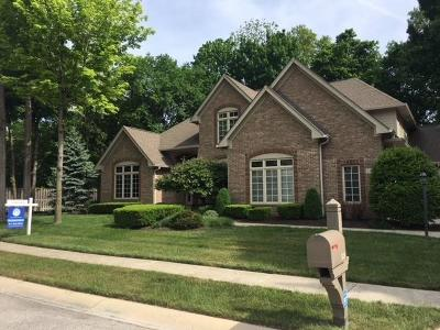 Carmel Single Family Home For Sale: 5826 Dawnwood Drive
