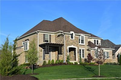 Sheridan, Fortville, Carmel, Noblesville, Atlanta Single Family Home For Sale: 14190 Overbrook Drive