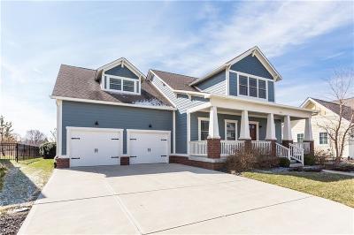 Zionsville Single Family Home For Sale: 6741 Regents Park Drive
