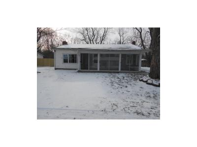 Elwood IN Single Family Home For Sale: $59,900
