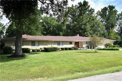 Indianapolis Single Family Home For Sale: 500 Fairway Drive