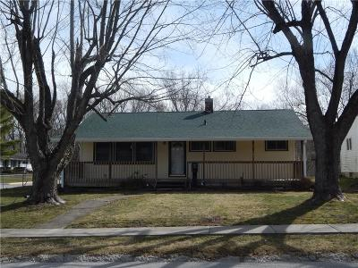 Greencastle IN Single Family Home For Sale: $124,900