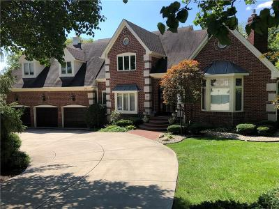 Indianapolis Single Family Home For Sale: 8629 Key Harbour Court