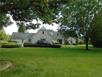 Zionsville Single Family Home For Sale: 8775 West Oak Street