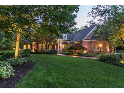 Indianapolis Single Family Home For Sale: 6525 Bergeson Way