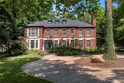 Single Family Home For Sale: 4165 North Meridian Street