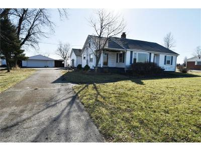 New Palestine Single Family Home For Sale: 3021 West Us Highway 52