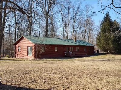 Parke County Single Family Home For Sale: 10440 East Lakeside Drive