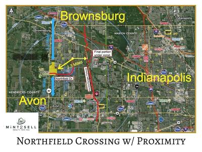 Brownsburg Commercial Lots & Land For Sale: 0005 Northfield