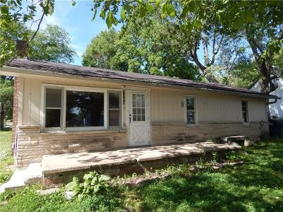Greencastle IN Single Family Home For Sale: $69,900