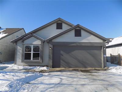 Indianapolis Single Family Home For Sale: 4054 Eagle Cove East Drive