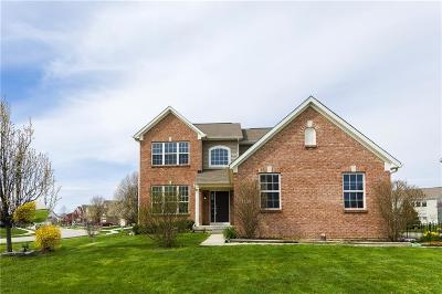 Zionsville Single Family Home For Sale: 6240 Eagle Lake Drive