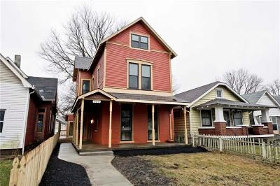 Indianapolis Single Family Home For Sale: 609 Prospect Street
