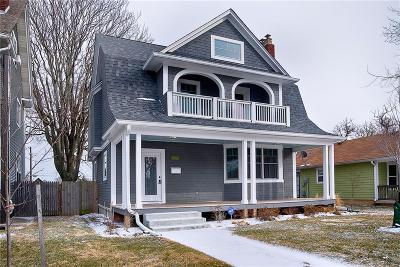 Indianapolis Single Family Home For Sale: 2221 Broadway Street
