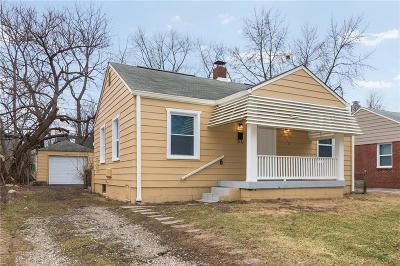Indianapolis Single Family Home For Sale: 1940 North Drexel Avenue