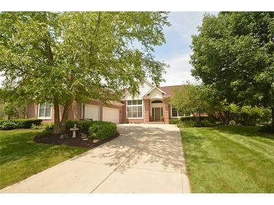 Fishers Single Family Home For Sale: 9891 Sugarleaf Place