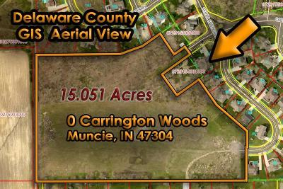 Delaware County Residential Lots & Land For Sale: Carrington Woods Way