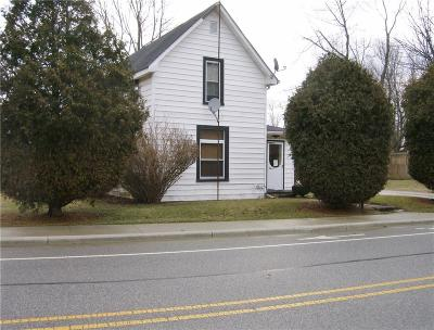 Summitville IN Single Family Home For Sale: $60,500