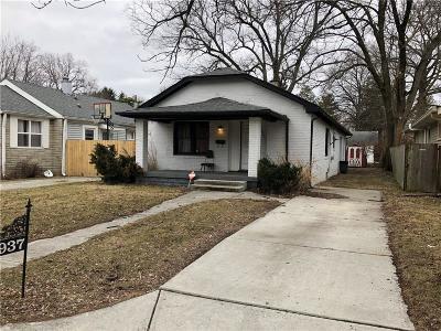 Single Family Home For Sale: 4937 North Crittenden Avenue